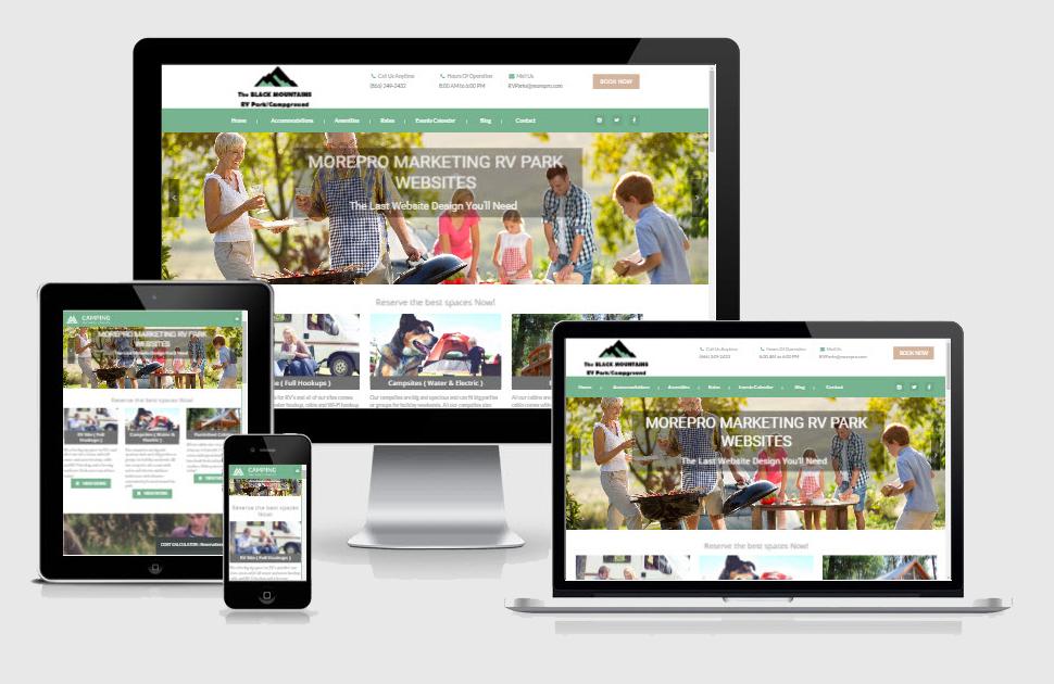 Demos - MorePro Marketing RV Park Website & Marketing Solutions 5