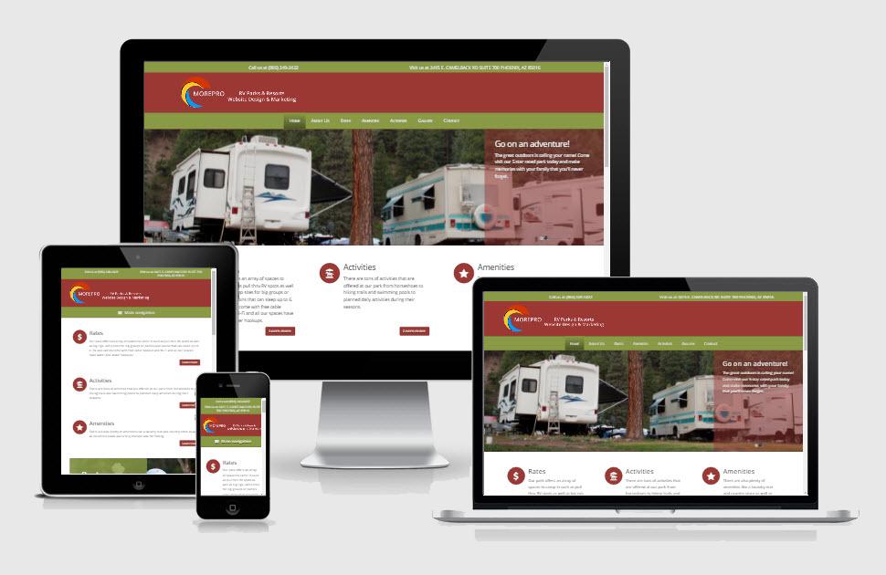Demos - Campground/Rv park Design Marketing Firm Phoenix AZ